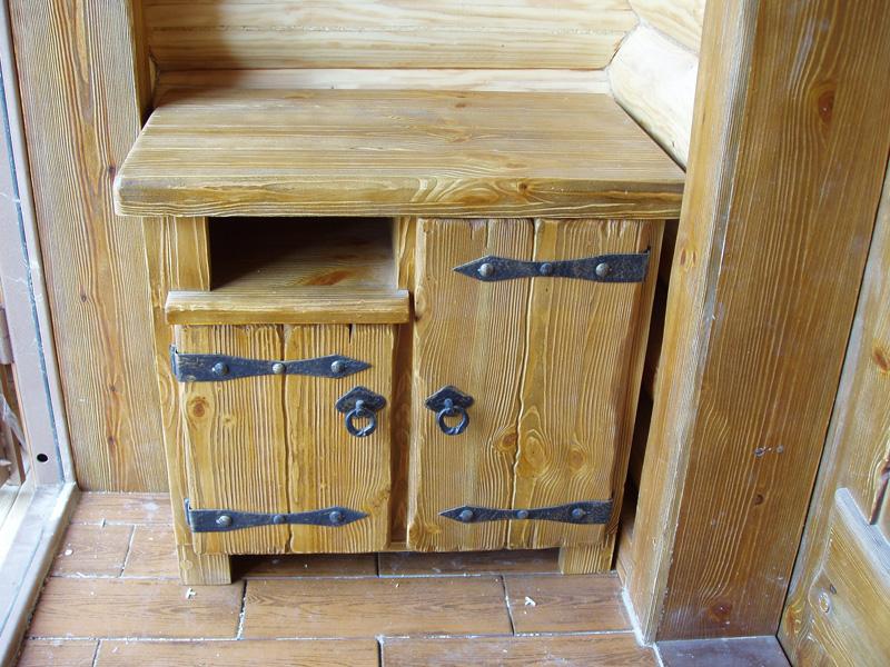 Изготовление шкафа из дерева