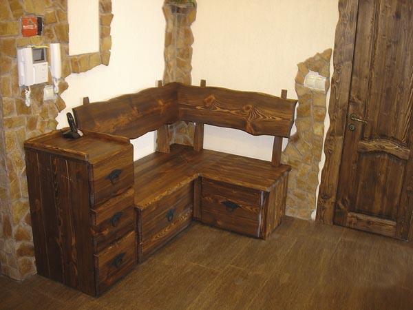 Мебель из дерева под старину фото своими руками