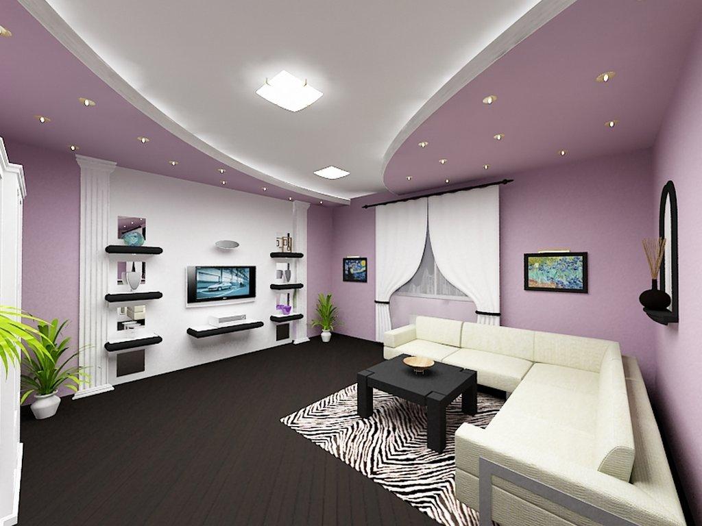 Дизайн зала в частном доме своими руками