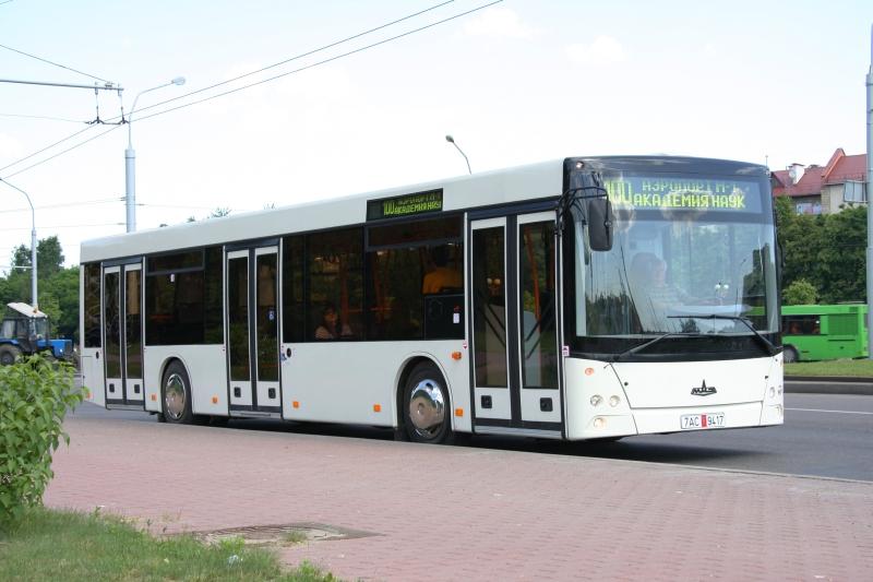 Новые пассажирские автобусы МАЗ …