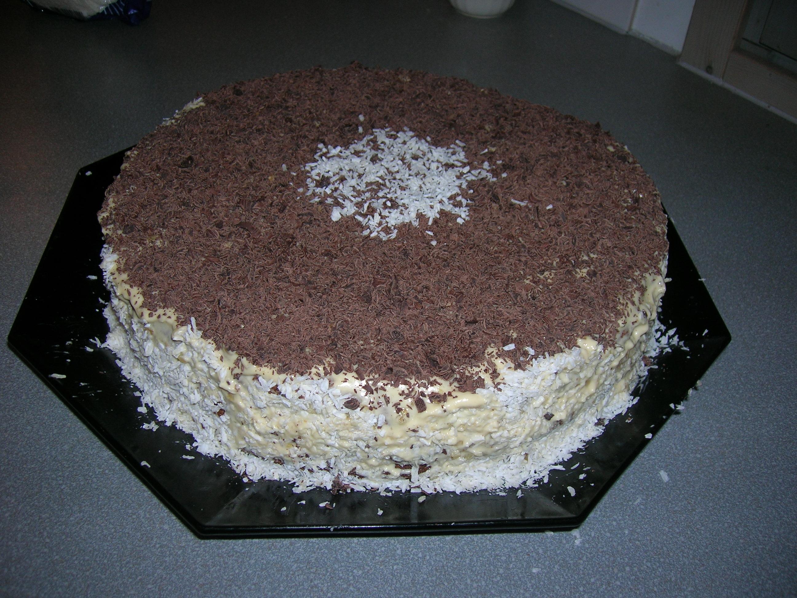 трехъярусные торт рецепты с фото