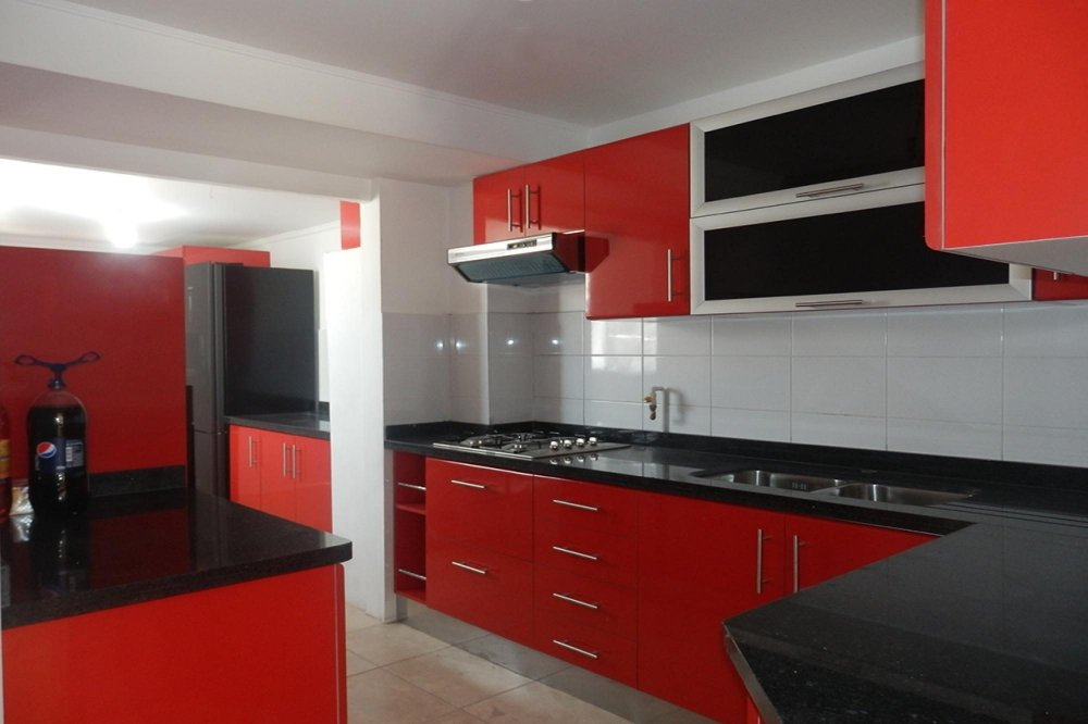 red-kitchen-accents-square-beauty-high-pressure-laminate-table-square-stainless-steel-build-microwive-white-classic-dining-table-black-smooth-nylon-carpet-pull-down-faucet.jpg