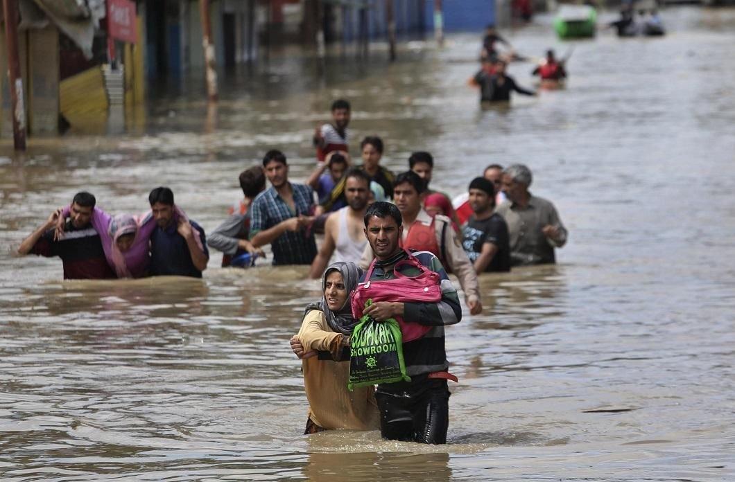 В Индии более 63 тысячи пострадали от наводнения
